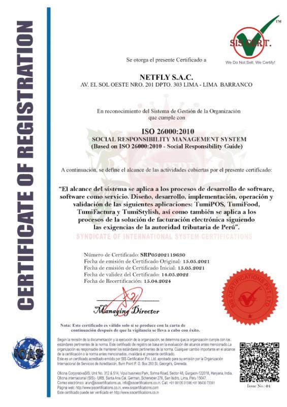 certificado en responsabilidad socialilidad