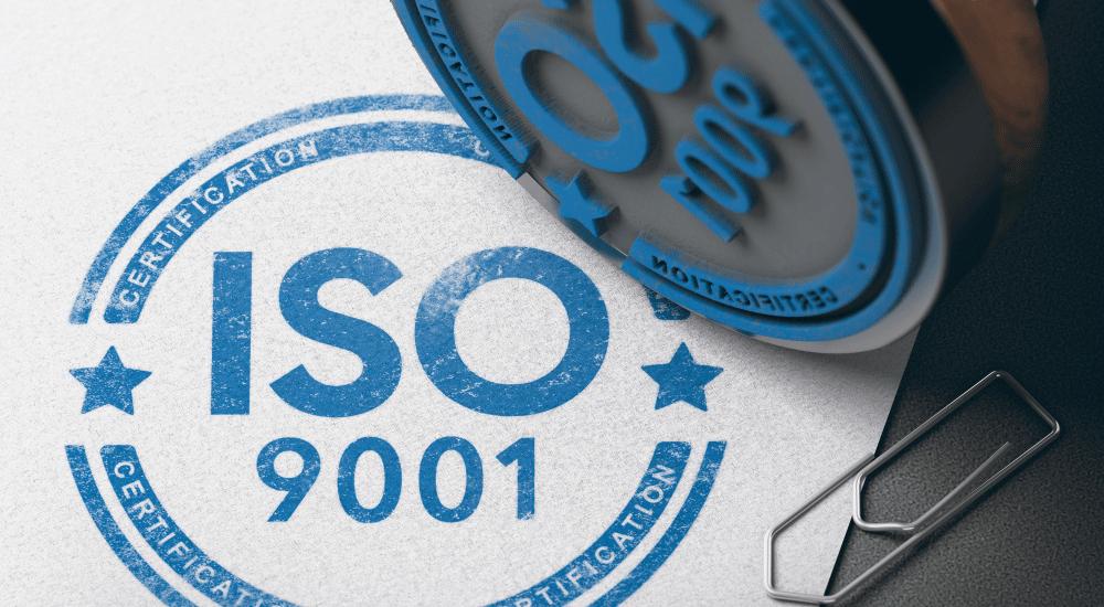 sello de certificado ISO de tumisoft
