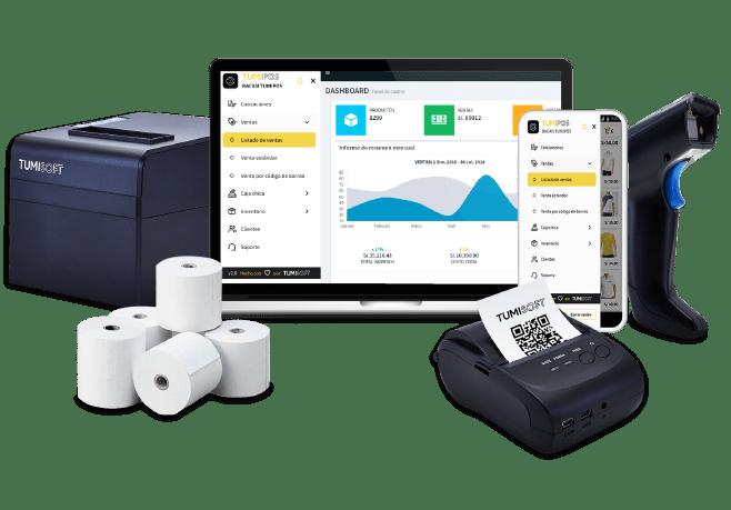 Hardware y dispositivos para punto de venta